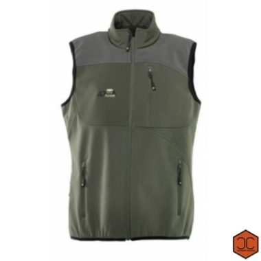 Gilet softshell antivento