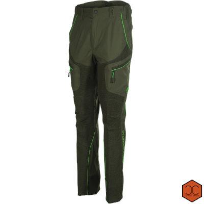 Pantalone Alpi Elasticizzato Verde Fluo